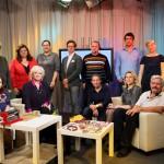 Команда ООО «Фредерик» на записи «МАГИЯ ГЛИНЫ», октябрь 2013